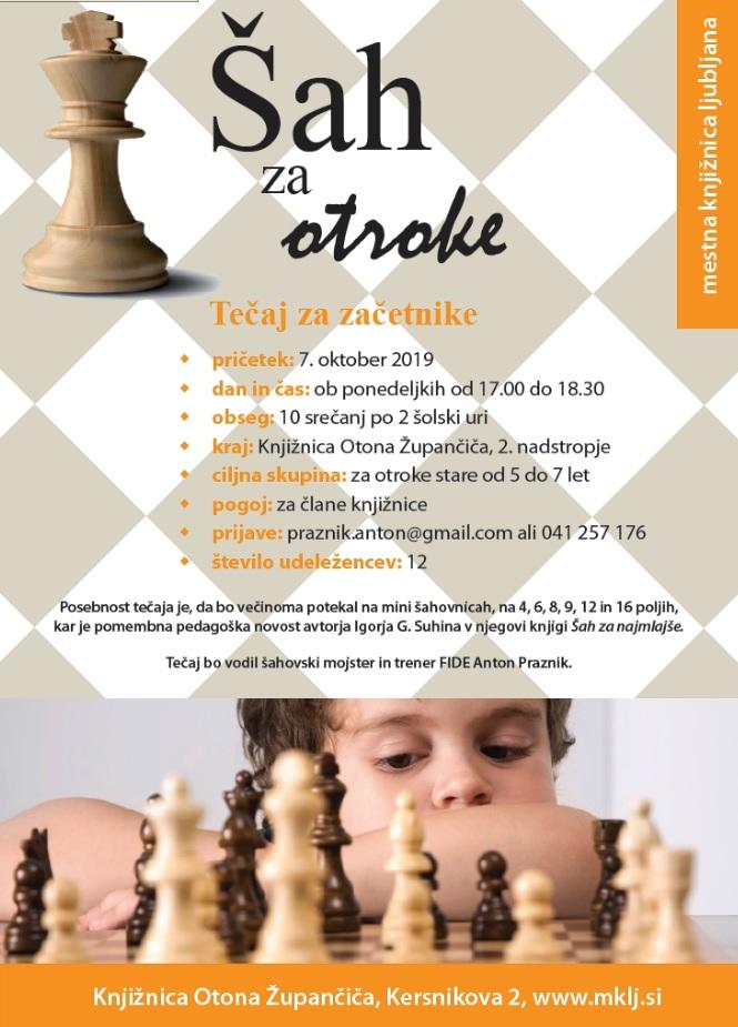 tečaj šaha MKL